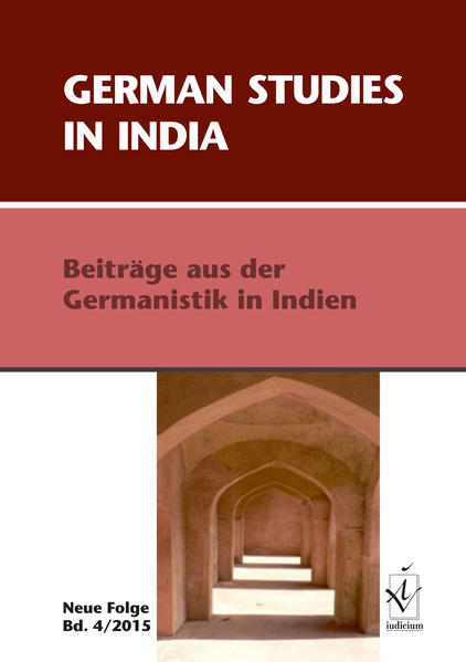 German Studies in India - Coverbild
