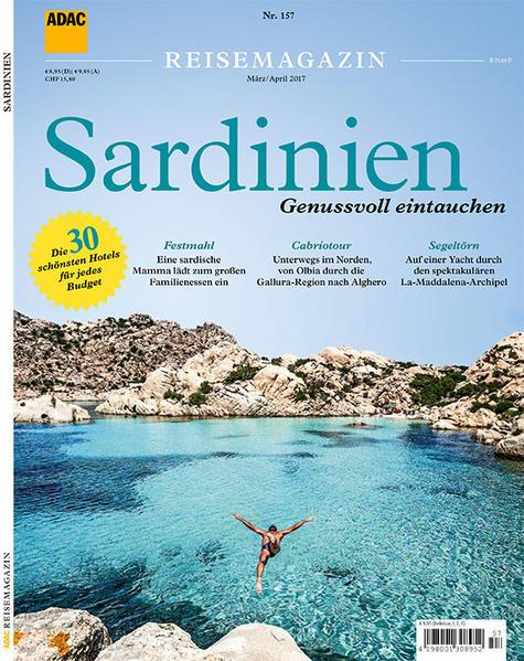ADAC Reisemagazin Sardinien - Coverbild
