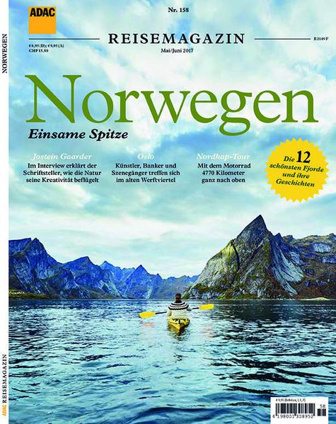 ADAC Reisemagazin Norwegen - Coverbild