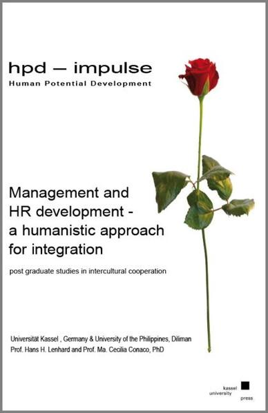 Management and HR development - a humanistic approach for integration post graduate studies in intercultural cooperation - Coverbild