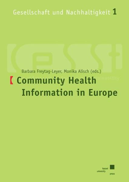 Community based health Information in Europe - Coverbild