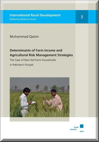 Determinants of Farm Income and Agricultural Risk Management - Coverbild