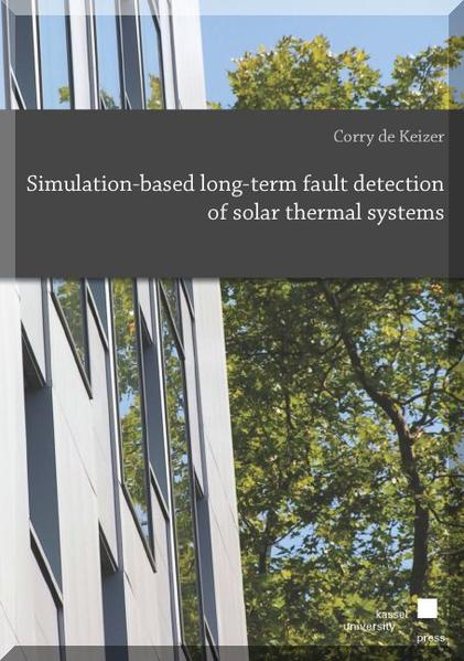 Simulation-based long-term fault detection of solar thermal systems - Coverbild