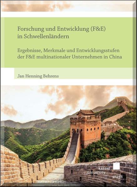 Forschung und Entwicklung (F&E) in Schwellenländern - Coverbild