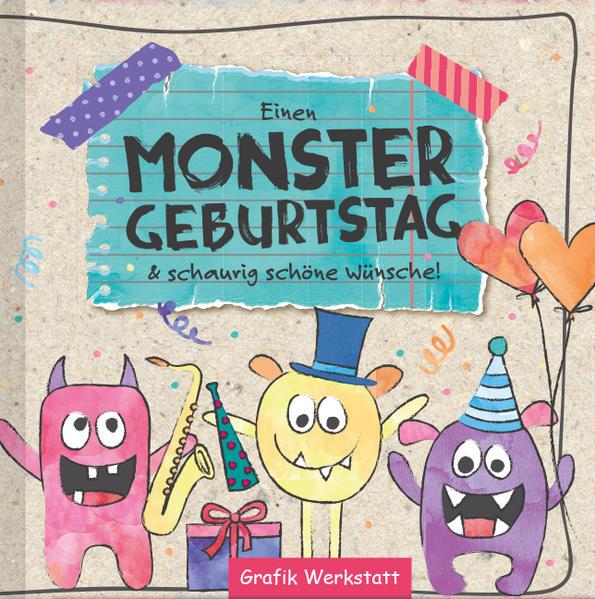 Einen Monster Geburtstag - Coverbild