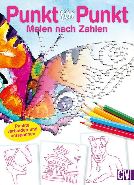 Bookazine Punkt für Punkt - Malen nach Zahlen - Coverbild
