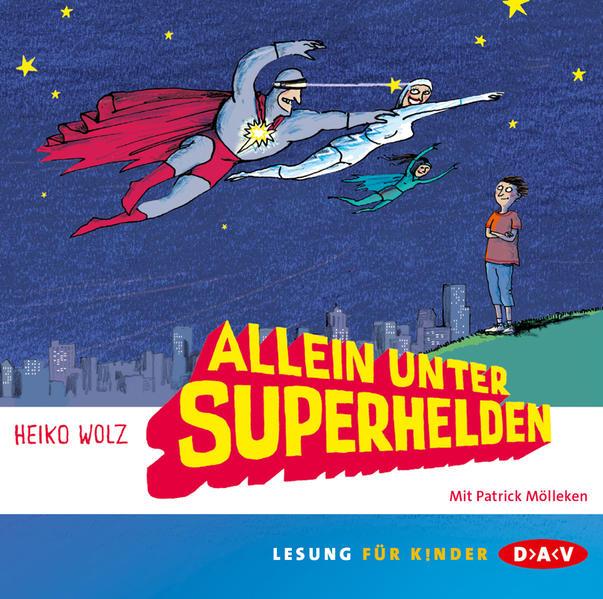 Allein unter Superhelden - Coverbild