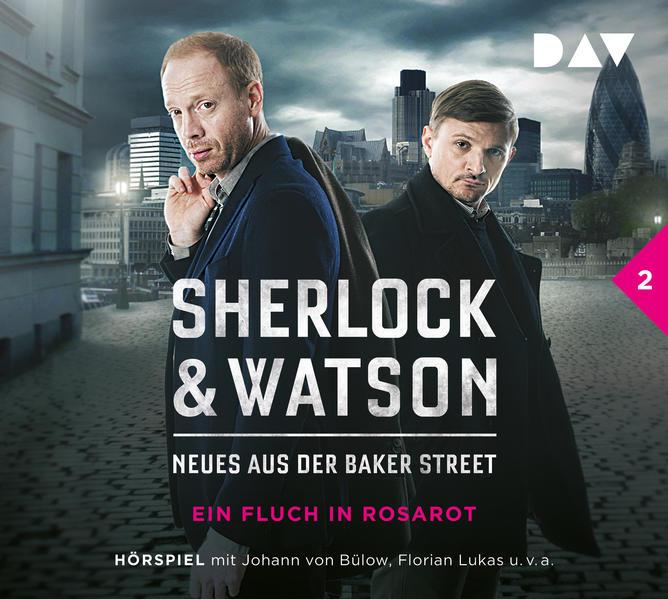 Sherlock & Watson – Neues aus der Baker Street: Ein Fluch in Rosarot (Fall 2) - Coverbild
