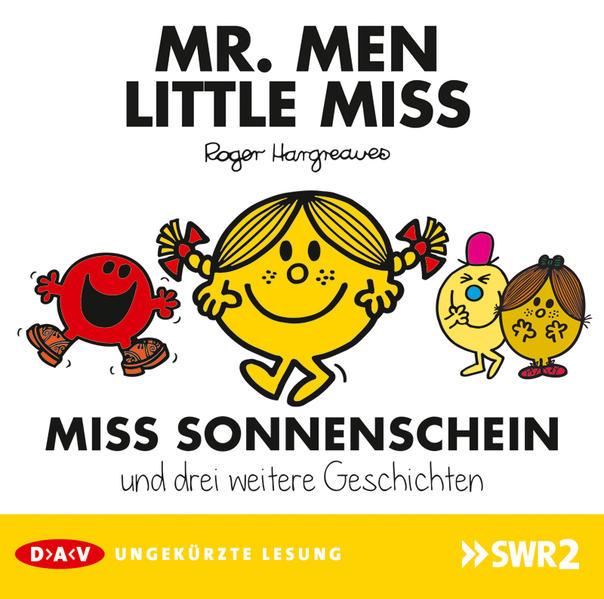 Mr. Men und Little Miss – Miss Sonnenschein und drei weitere Geschichten - Coverbild