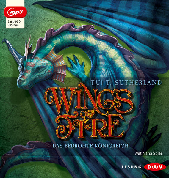 Wings of Fire – Teil 3: Das bedrohte Königreich (1 mp3-CD) - Coverbild