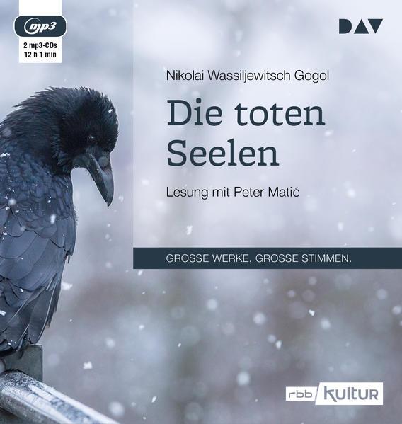 Die toten Seelen (2 mp3-CDs) - Coverbild