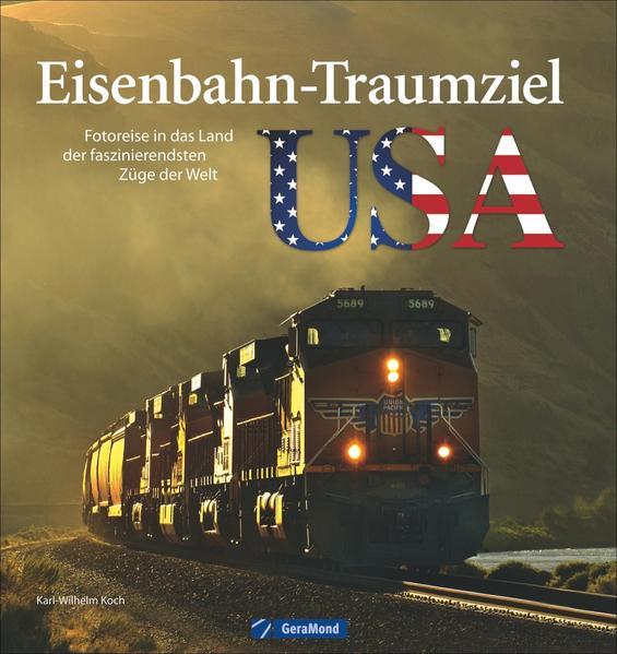 Eisenbahn-Traumziel USA - Coverbild