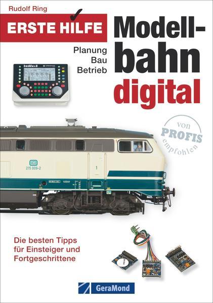 Erste Hilfe Modellbahn Digital - Coverbild