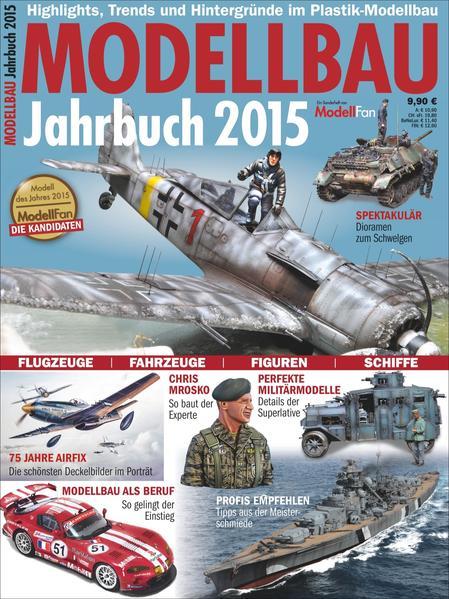 Jahrbuch Modellbau 2015 - Coverbild