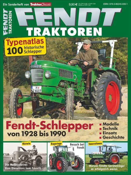 Typenkatalog Fendt-Traktoren - Coverbild