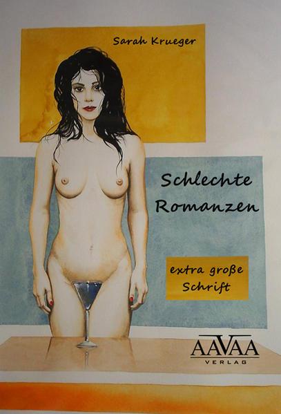 Schlechte Romanzen - Sonderformat Großschrift - Coverbild