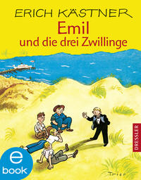 Emil und die drei Zwillinge Cover