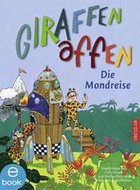 Giraffenaffen - Die Mondreise Cover
