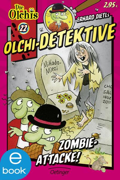 Olchi-Detektive. Zombie-Attacke! - Coverbild