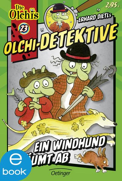 Olchi-Detektive. Ein Windhund räumt ab - Coverbild