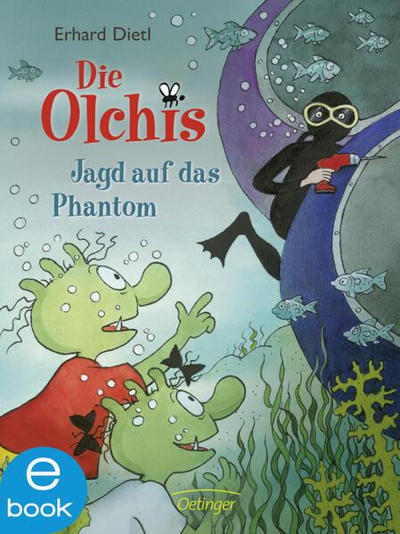 Die Olchis. Jagd auf das Phantom - Coverbild
