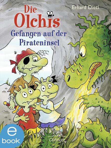 Die Olchis. Gefangen auf der Pirateninsel - Coverbild