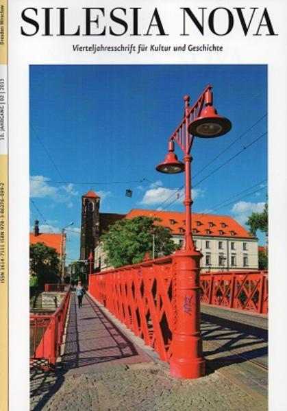 Silesia Nova. Zeitschrift für Kultur und Geschichte / Silesia Nova - Coverbild