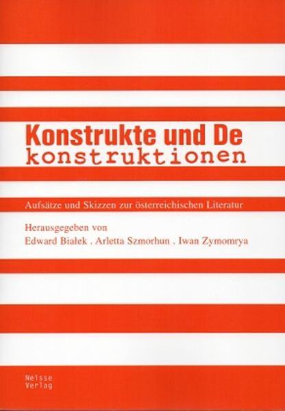 Konstrukte und Dekonstruktionen - Coverbild