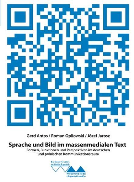 Sprache und Bild im massenmedialen Text - Coverbild