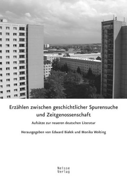 Erzählen zwischen geschichtlicher Spurensuche und Zeitgenossenschaft - Coverbild