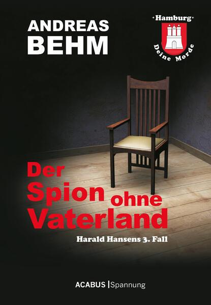 Hamburg - Deine Morde. Der Spion ohne Vaterland - Coverbild