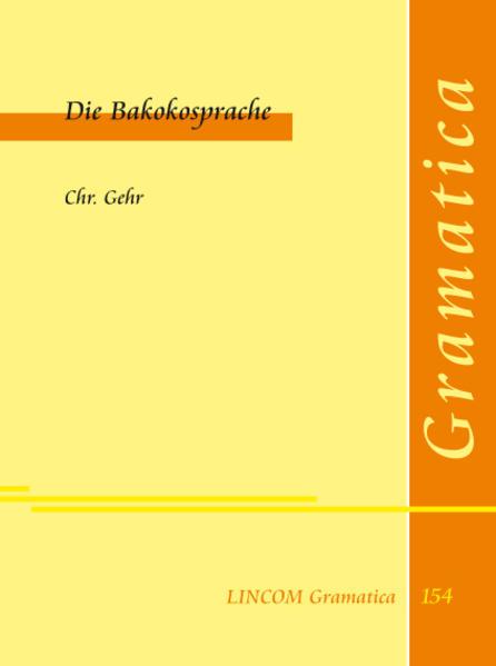 Die Bakokosprache - Coverbild