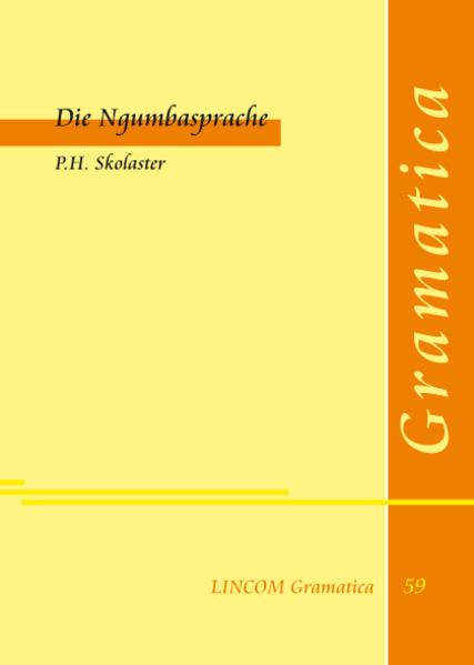 Die Ngumbasprache - Coverbild