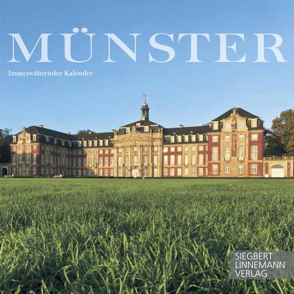 Münster Tischkalender 14 x 14 cm - Coverbild