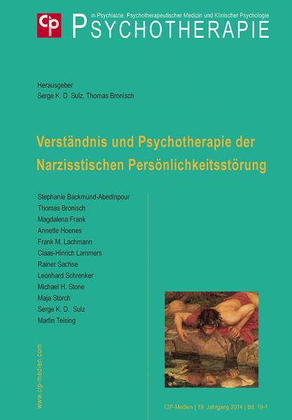 Verständnis und Psychotherapie der Narzisstischen Persönlichkeitsstörung - Coverbild