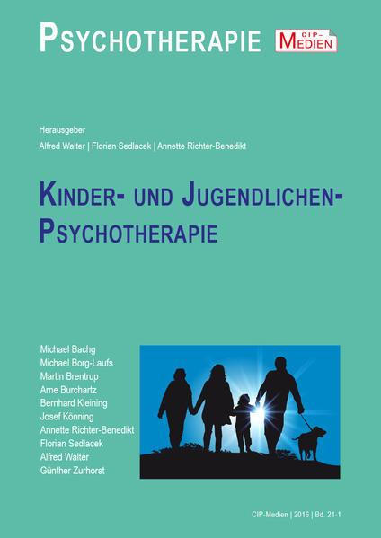 Kinder- und Jugendlichen Psychotherapie - Coverbild