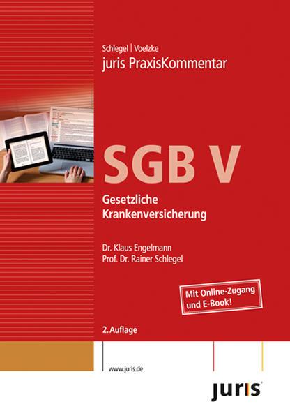juris PraxisKommentar SGB V - Coverbild