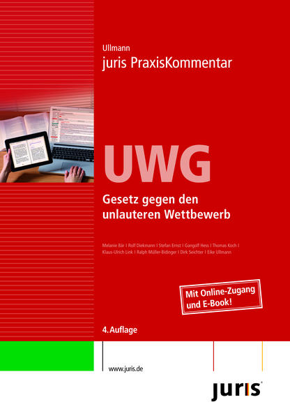 Download PDF Kostenlos juris PraxisKommentar / juris Praxiskommentar UWG