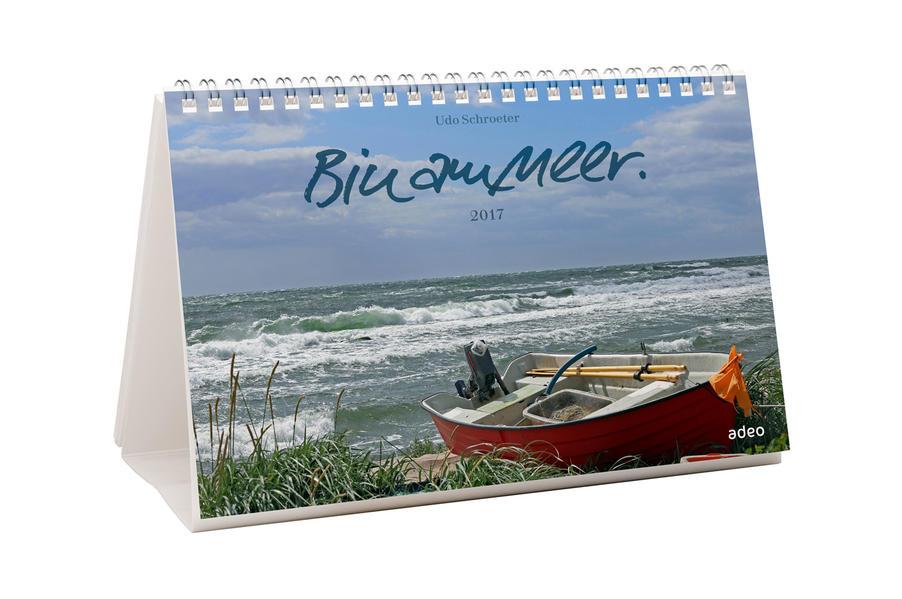 Bin am Meer 2017 - Tisch- und Wandkalender * - Coverbild