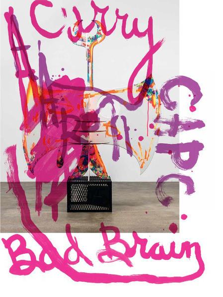 Aaron Curry. Bad Brain - Coverbild