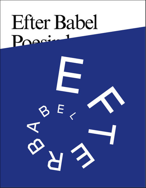 Efter Babel / After Babel - Poetry will be made by all! - 89plus - Coverbild