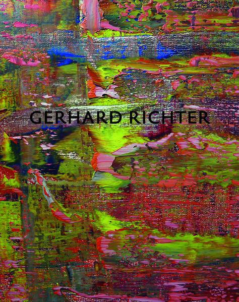 Gerhard Richter.  Abstrakte Bilder und Zeichnungen - Coverbild