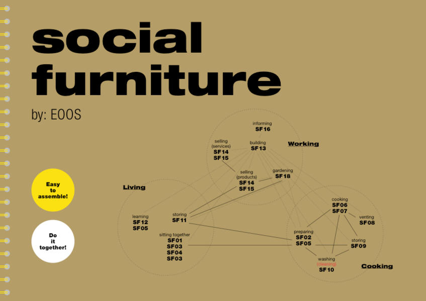 social furniture. By: EOOS - Coverbild