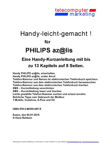 Philips az@lis-leicht-gemacht - Coverbild