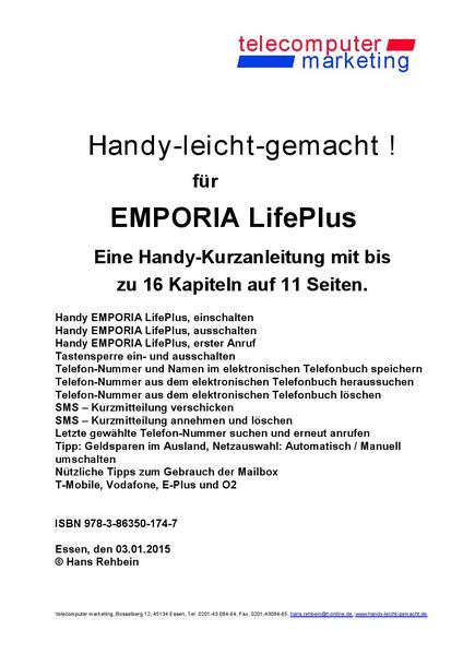 Emporia LifePlus-leicht-gemacht - Coverbild
