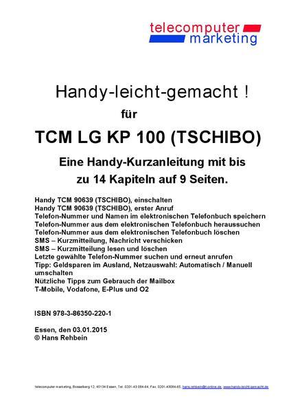 Tchibo TCM TCM LG KP 100 Tchibo-leicht-gemacht - Coverbild