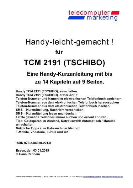 Tchibo TCM 2191-leicht-gemacht - Coverbild