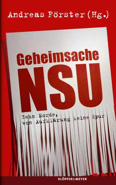Geheimsache NSU - Coverbild