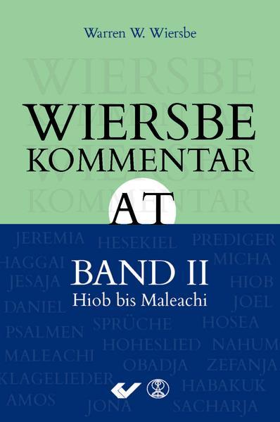 Wiersbe Kommentar zum Alten Testament, Band 2 - Coverbild