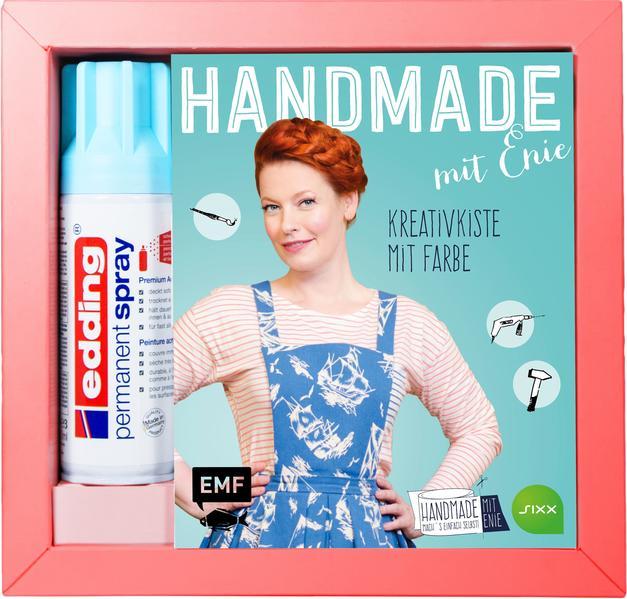 HANDMADE mit Enie – Kreativkiste mit Farbe - Coverbild